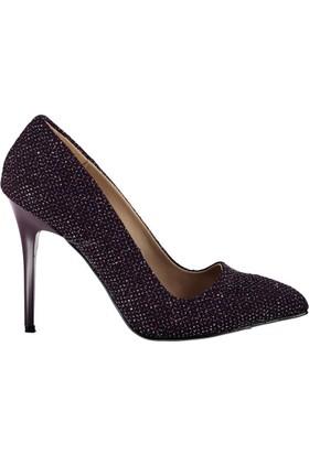 Fox Shoes Mor Kadın Topuklu Ayakkabı C922151914