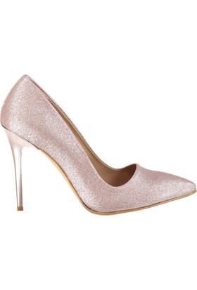 Fox Shoes Bronz Kadın Topuklu Ayakkabı C922151946