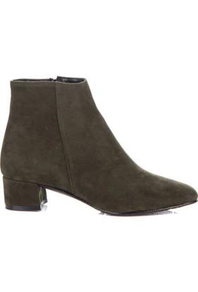 Fox Shoes Yeşil Kadın Bot C922641202