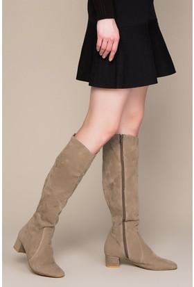 Fox Shoes Vizon Kadın Çizme C922643302