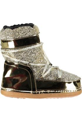 Fox Shoes Altın Kadın Bot C960686514