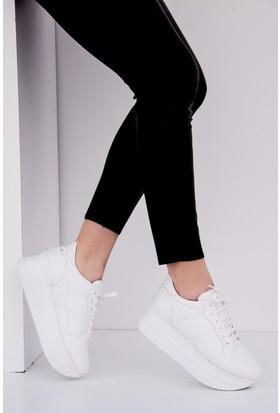 Fox Shoes Beyaz Kadın Sneakers D267380509