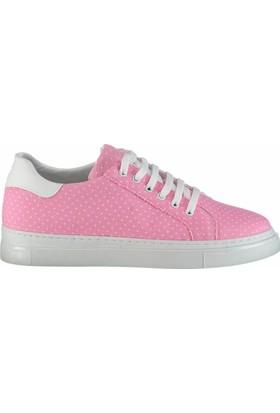 Fox Shoes Pembe Beyaz Kadın Sneakers D270561505