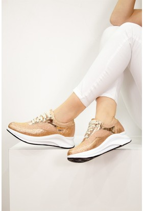 Fox Shoes Bronz Kadın Sneakers D288048614