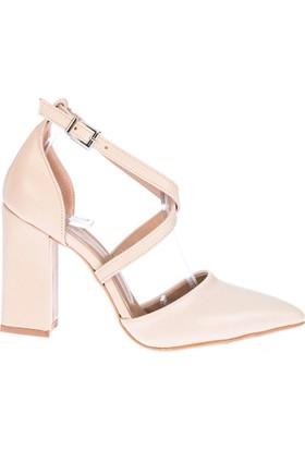 Fox Shoes Ten Kadın Topuklu Ayakkabı D340086309