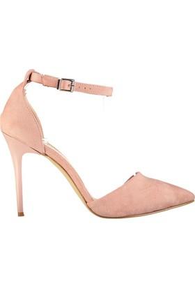 Fox Shoes Pudra Kadın Topuklu Ayakkabı D340086502