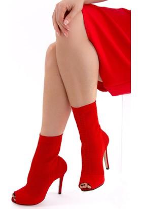 Fox Shoes Kırmızı Kadın Bot D372642705