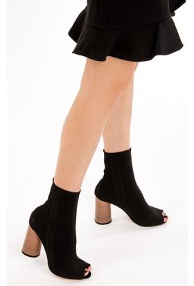 Fox Shoes Siyah Kadın Bot D372661005