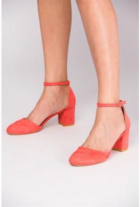 Fox Shoes Nar Çiçeği Kadın Topuklu Ayakkabı D422008202