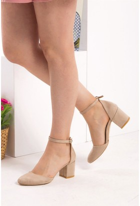 Fox Shoes Ten Kadın Topuklu Ayakkabı D422008202