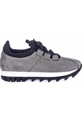 Fox Shoes Gri Kadın Sneakers D425180202