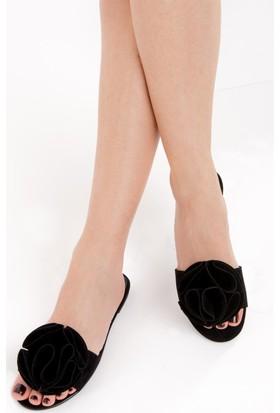 Fox Shoes Siyah Kadın Terlik D437174802