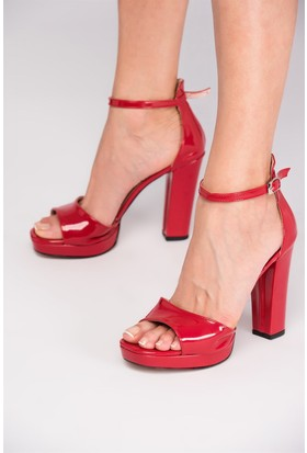 Fox Shoes Kırmızı Kadın Topuklu Ayakkabı D518011008