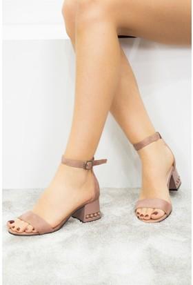 Fox Shoes Somon Kadın Topuklu Sandalet D518800902