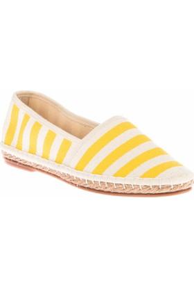 Fox Shoes Sarı Kadın Ayakkabı D587954505