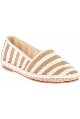 Fox Shoes Vizon Kadın Ayakkabı D587954505