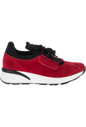Fox Shoes Kırmızı Kadın Sneakers D602006102