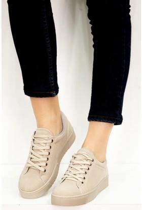 Fox Shoes Bej Kadın Sneakers D602039002