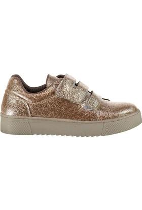 Fox Shoes Altın Kadın Sneakers D602201814
