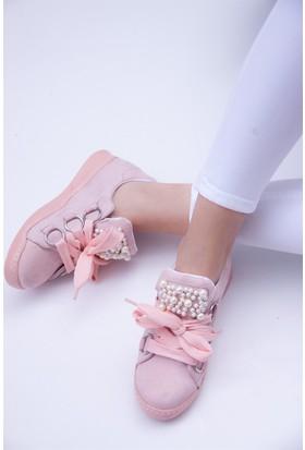Fox Shoes Pudra Kadın Sneakers D615760502