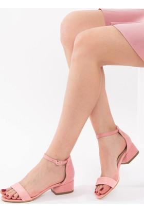 Fox Shoes Pembe Kadın Topuklu Sandalet D643204202