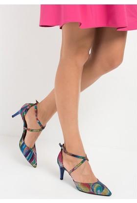 Fox Shoes Multi Kadın Topuklu Ayakkabı D654054807