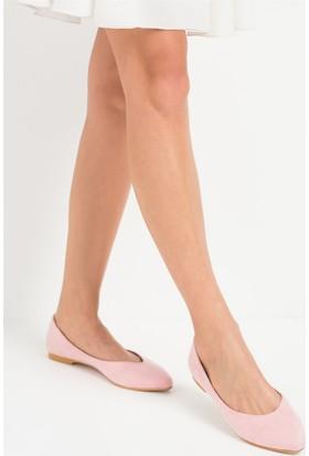 Fox Shoes Pembe Kadın Babet D726460402