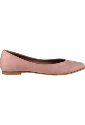 Fox Shoes Pudra Kadın Babet D726460402
