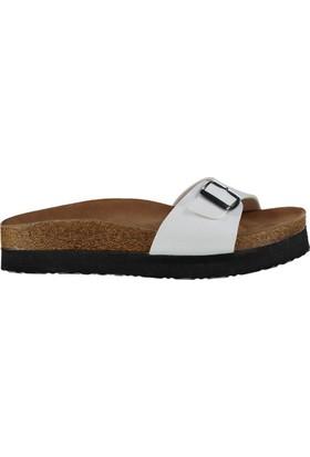 Fox Shoes Beyaz Kadın Terlik D777824409