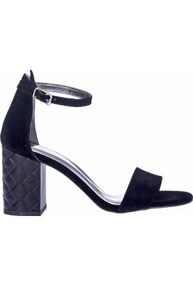Fox Shoes Siyah Kadın Topuklu Ayakkabı D854620002