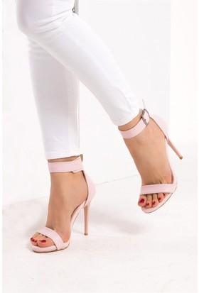 Fox Shoes Pudra Kadın Topuklu Ayakkabı D922107909