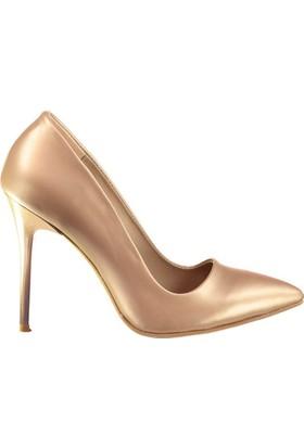 Fox Shoes Bronz Kadın Topuklu Ayakkabı D922151943