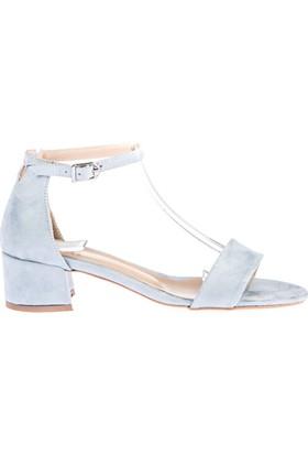 Fox Shoes Mavi Kadın Topuklu Sandalet D922587302