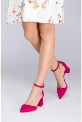 Fox Shoes Fuşya Kadın Topuklu Ayakkabı D922676702