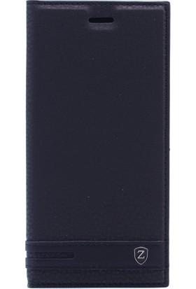 Case 4U General Mobile GM8 Go Kılıf Gizli Mıknatıslı Siyah
