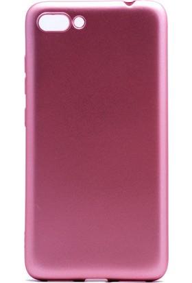 Case 4U Asus Zenfone 4 Max Kılıf ZC554KL Mat Silikon Arka Kapak - Premium - Rose Gold