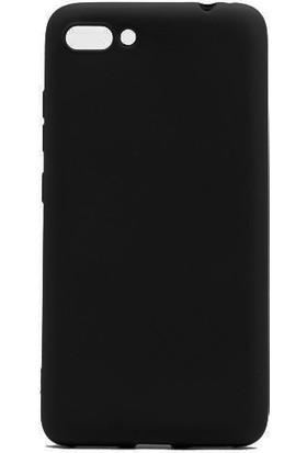 Case 4U Asus Zenfone 4 Max Kılıf ZC554KL Mat Silikon Arka Kapak - Premium - Siyah