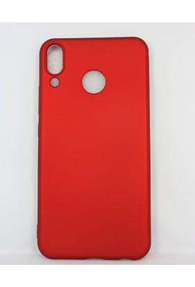 Case 4U Asus Zenfone 5 Kılıf ZE620KL Mat Silikon Arka Kapak - Premier - Kırmızı