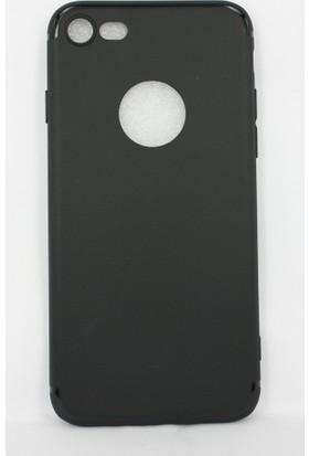 Case 4u Apple iPhone 5 - 5S - SE Kılıf İnce Silikon Arka Kapak - İmax - 0.2mm - Siyah