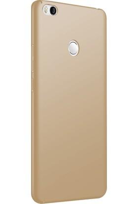 Case 4U Xiaomi Mi Max 2 Kılıf 360 Rubber Arka Kapak - Premier - Altın