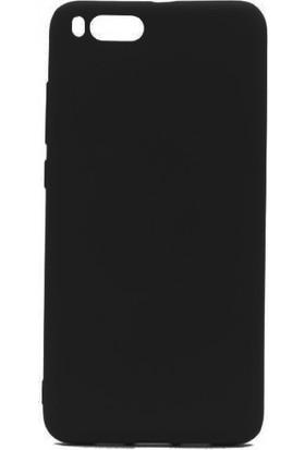 Case 4U Xiaomi Mi Note 3 Kılıf Mat Silikon Arka Kapak - Premier - Siyah
