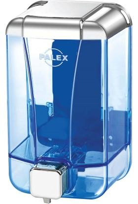 Palex 3430-2 Sıvı Sabun Dispenseri 1000 CC Krom Şeffaf