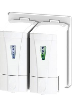 Palex 3564-1 Mini Sıvı Sabun Dispenseri 250 CCx2 Beyaz