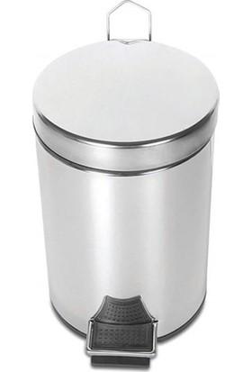 Palex 3700-305 Krom Pedallı Çöp Kovası 5 LT