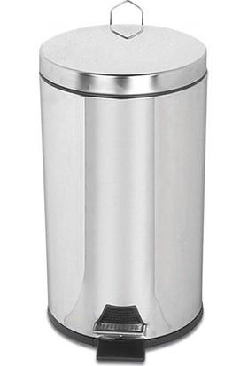 Palex 3700-316 Krom Pedallı Çöp Kovası 16 LT