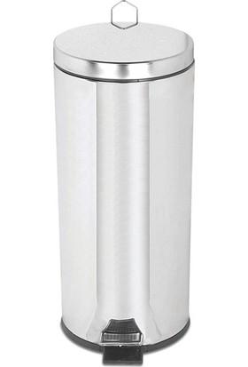 Palex 3700-330 Krom Pedallı Çöp Kovası 30 LT