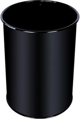 Palex 3700-0 Çöp Kovası Masa Altı Metal 13 LT Siyah