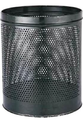 Palex 3700-1 Çöp Kovası Masa Altı Delikli 13 LT Siyah