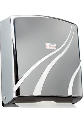 Flosoft F090 Z Katlamalı Kağıt Havluluk 300'lük Krom