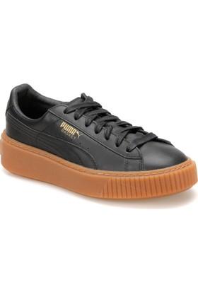 Puma Basket Platform Core Siyah Kadın Sneaker